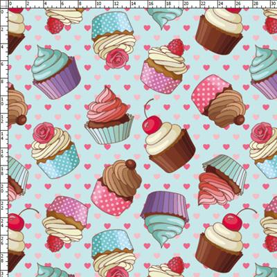Cupcakes Poplin 150cm