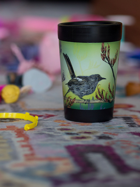 CUPPACOFFEECUP - Hihi by Janine Millington