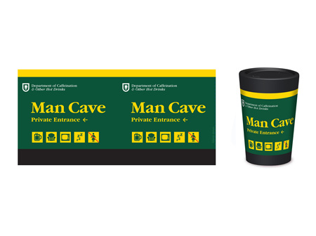 Cuppacoffeecup Man Cave