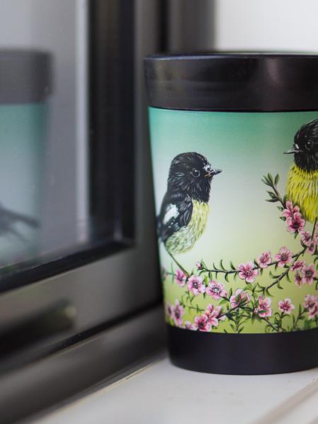 CUPPACOFFEECUP - Mirimiro & Manuka by Janine Millington