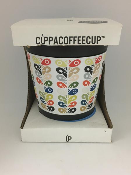 CUPPACOFFEECUP - Tiki Pou - Designed by NZ Artist Dick Frizzell