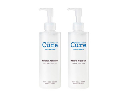 Cure Natural Aqua Gel 250ml Twin Pack
