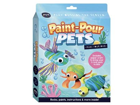 Curious Craft Paint-Pour Pets