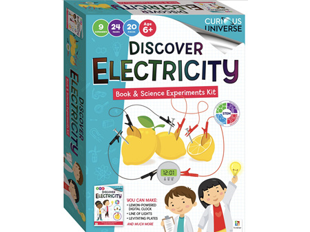 Curious Universe Discover Electricity Book & Science Experiments Kit