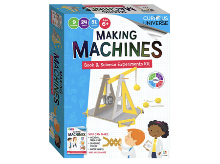 Curious Universe Making Machines Book & Science Experiments Kit
