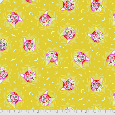 Curiouser & Curiouser - Cheshire - Wonder (Yellow)