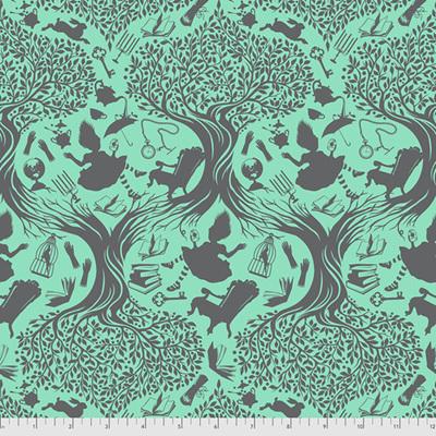 Curiouser & Curiouser - Down The Rabbit Hole - Daydream (Aqua)