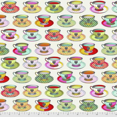 Curiouser & Curiouser - Tea Time - Sugar (White)