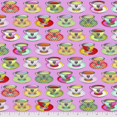 Curiouser & Curiouser - Tea Time - Wonder (Pink)