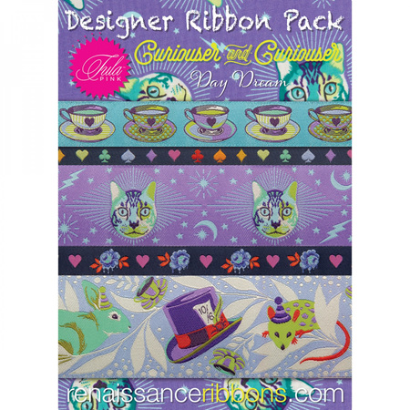 Curiouser Ribbon Pack Tula Pink Daydream