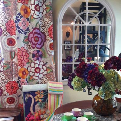 Colourful Curtaining