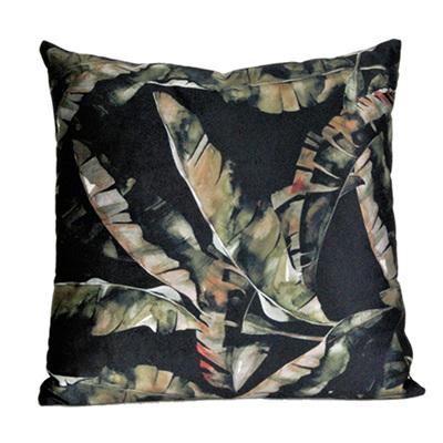 Cushion - Black & Green