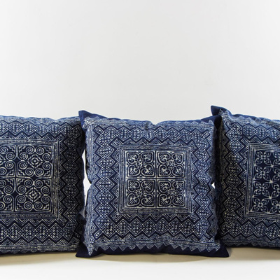 Cushion Cover Indigo