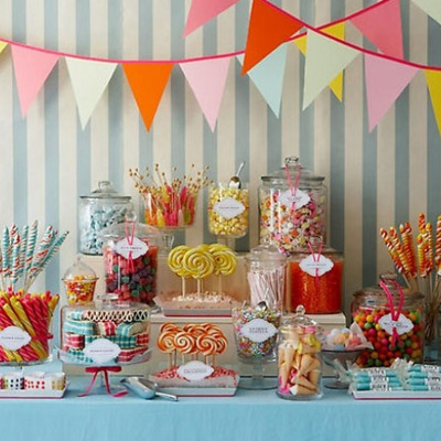 Custom Candy Buffets