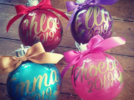 Custom Christmas Bauble