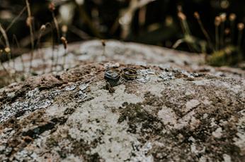 custom design engagement and wedding rings