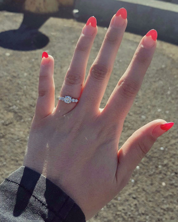 custom design engagement ring