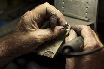 custom design jewellery handcrafted at The Village Goldsmith