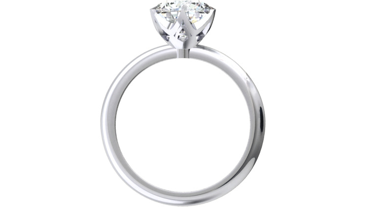 custom designed couple initials diamond engagement ring