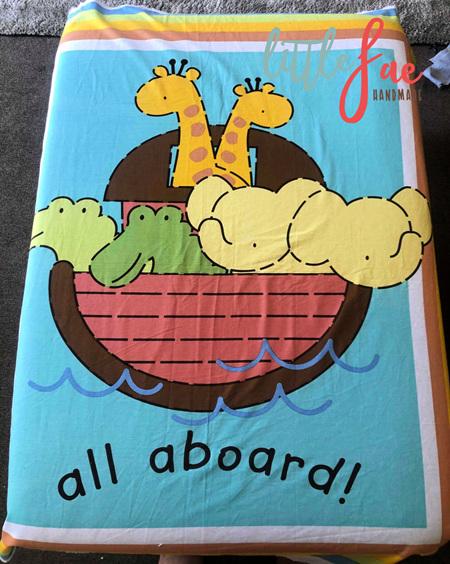 Custom Made Animals On Ark Blanket