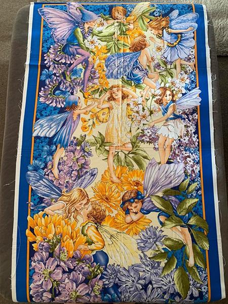 Custom Made Blue Fairy Blanket
