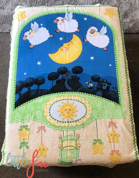 Custom Made Counting Sheep Blanket