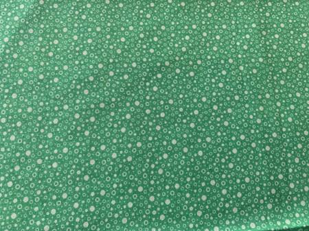 Custom Made Doll Bed Green spots