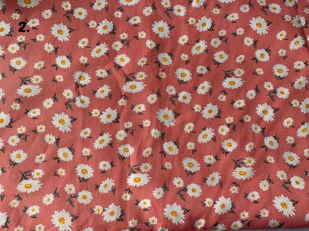Custom Made Doll Bed Pink Daisies