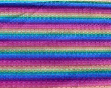 Custom Made Doll Bed Rainbow