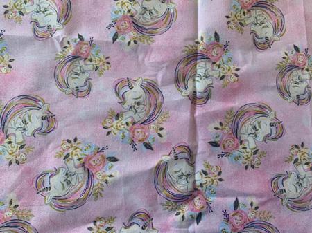 Custom Made Doll Bed Unicorn Pink