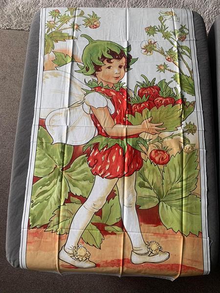Custom Made Strawberry Fairy Blanket