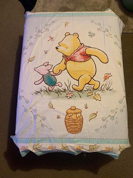 Custom Made Winnie The Pooh Blanket