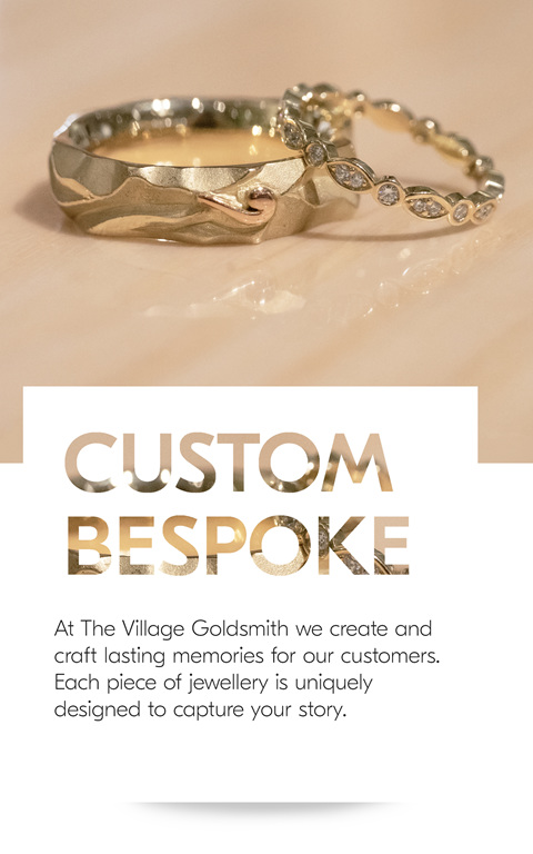 Custom Mens and Ladies Wedding Rings