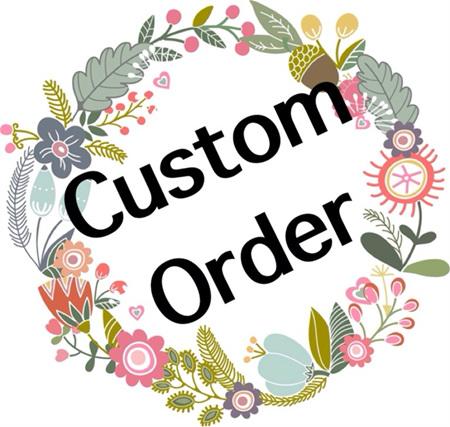Custom Order for Victoria G