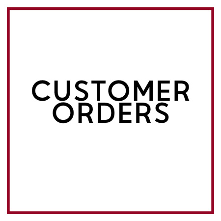 CUSTOMER ORDERS