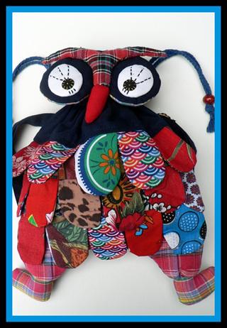 """""""Cute Blue Owl Backpack"""""""