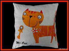 """Cute Cat Cushion"""