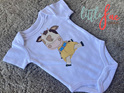 Cute Little Cow Girl Baby Bodysuit