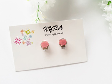 Cute Pink Piggy Clip-on Earrings