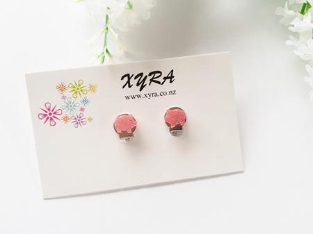 Cute Pink Piggy Clip-on Earrings