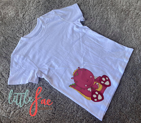 Cute Red Dinosaur T-shirt