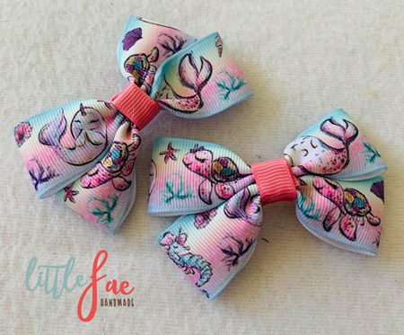 Cute Sea Animal Hair Bows