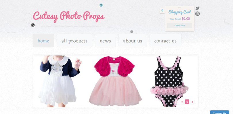 Kids Photo Props & Clothing Online Store
