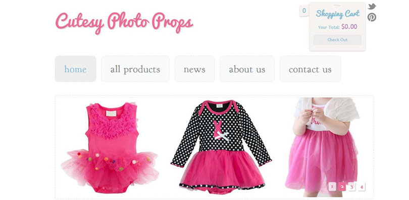 Kids Photo Clothing Online Store