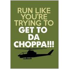 Da Choppa Fridge Magnet