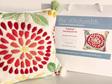 Dahlia needlepoint kit