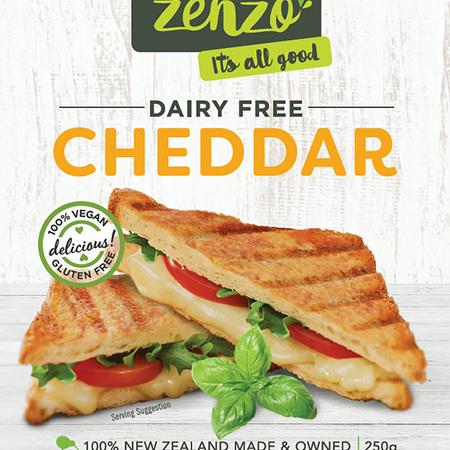 Dairy Free Vegan Cheddar - 250g