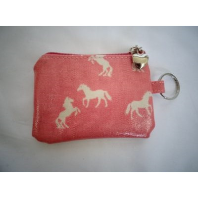 Daisy Collection Coin Purse Horse Pink