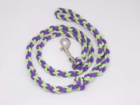 Daisy Lead - purple/light green cross