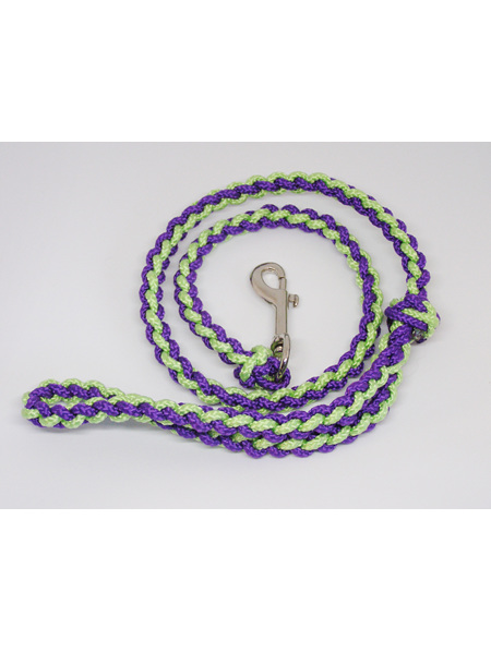 Daisy Lead - purple/light green, straight pattern